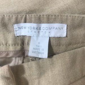 New York & Company Pants - 🎉SALE!!! NY&CO Dress Pants W/Gold Detail 6 Tall